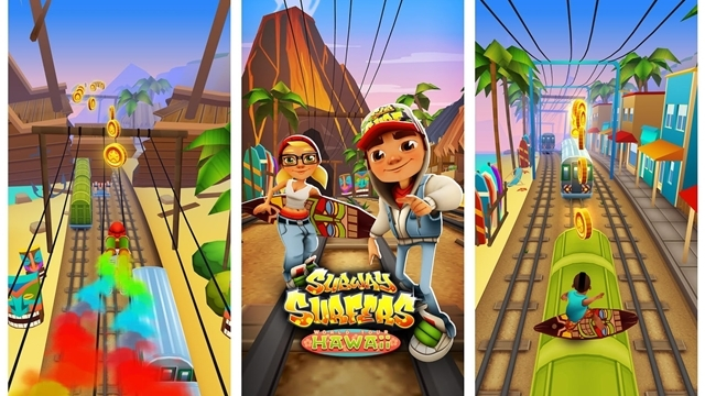 Subway Surfers Hawaii'de!