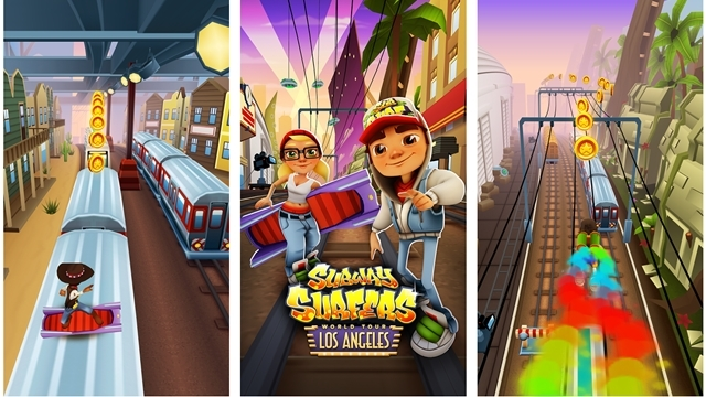 Subway Surfers Hollywood'da!