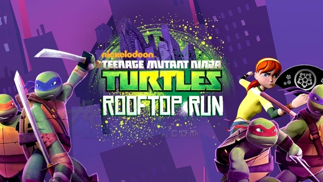 Teenage Mutant Ninja Turtles: Rooftop Run Bu Hafta iOS'ta Ücretsiz!