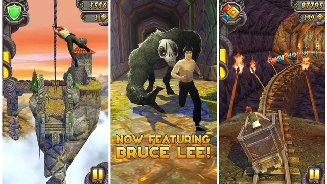 Temple Run 2'de Bruce Lee Rüzgarı!