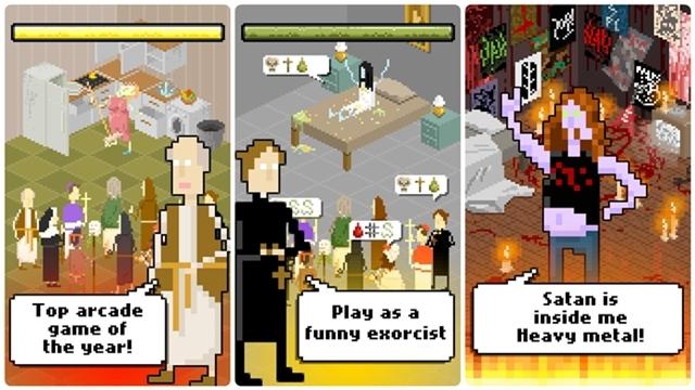 Basın Kutsal Suyu! Mobil Şeytan Çıkarma Oyunu The Exorcism Çıktı!