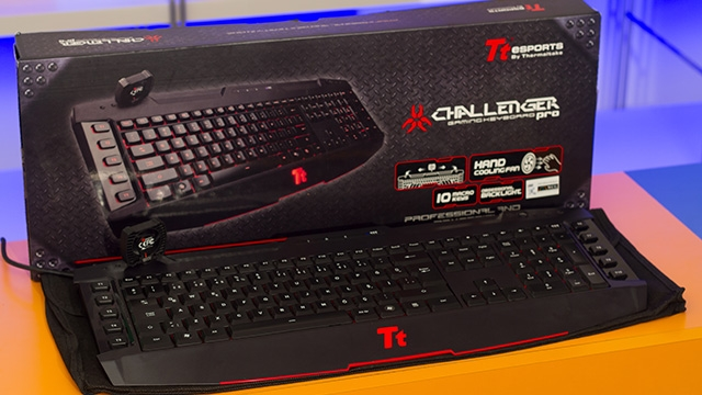Thermaltake TT eSports Challenger Pro Aydınlatmalı Oyuncu Klavyesi İncelemesi