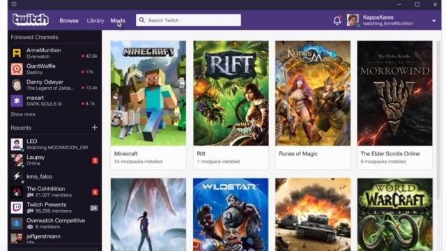 Twitch Masaüstü Uygulaması Çıkış Yaptı!