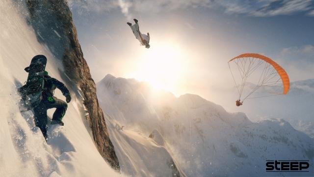 Ubisoft, Bu Hafta Sonu Steep'i Ücretsiz Oynatıyor!