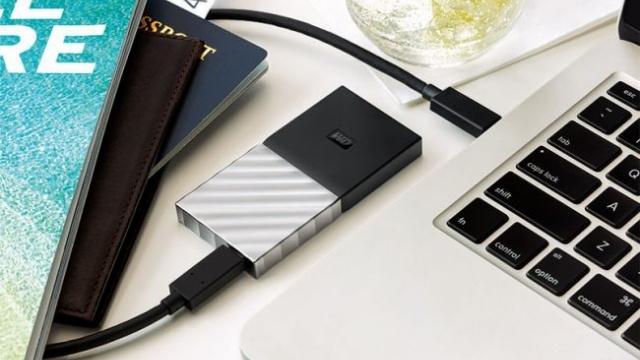 WD, 1 TB'lık Taşınabilir SSD'sini Tanıttı