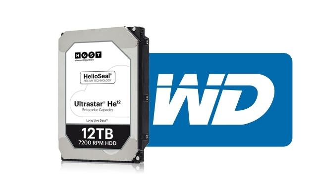 WD, 12 TB Kapasiteli Sabit Disklerini Tanıttı