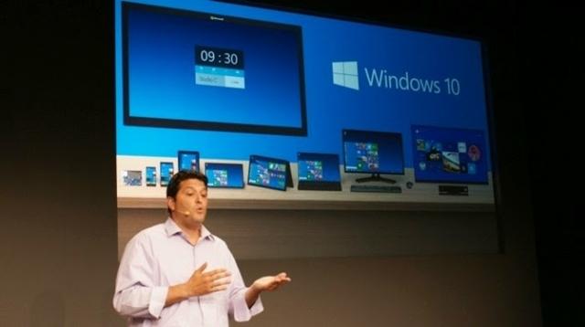 Windows 10 Önizleme Sürümü Yayınlandı