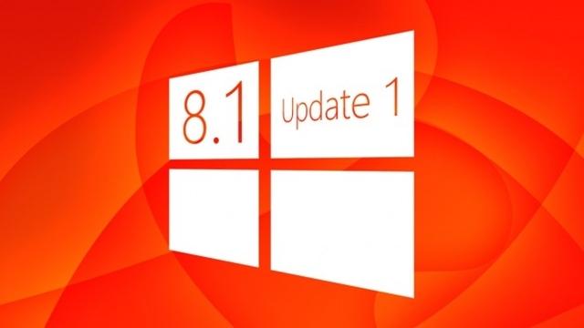 Windows 8.1'in İlk Güncellemesini Yüklemek Zorunlu Hale Geldi
