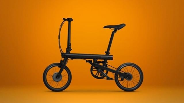 Xiaomi Katlanabilir Elektrikli Bisikletini Tanıttı