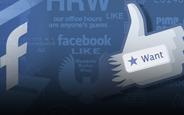 Facebook Want Butonu