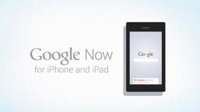 Apple: Google Now Uygulama Mağazasına Gönderilmedi