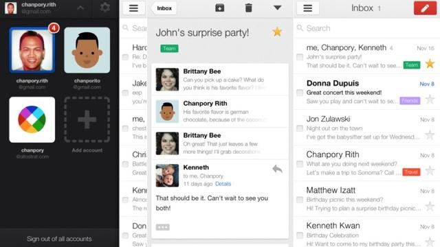 Gmail iOS Uygulaması Güncellendi