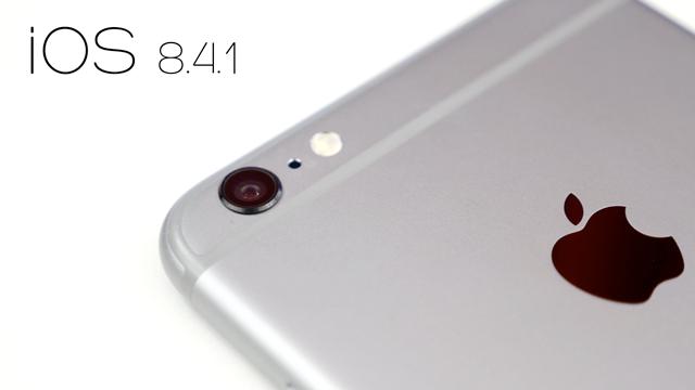 Apple iOS 8.4.1'i Kullanıcıların Hizmetine Sundu
