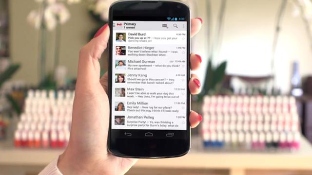 Gmail Android İçin 1 Milyar Kez İndirildi