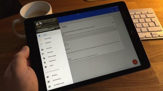 Google'ın Inbox Uygulaması Artık Tabletlerle Uyumlu