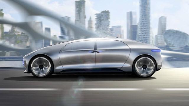 Mercedes'ten Çarpıcı Bir Sürücüsüz Araba Konsepti