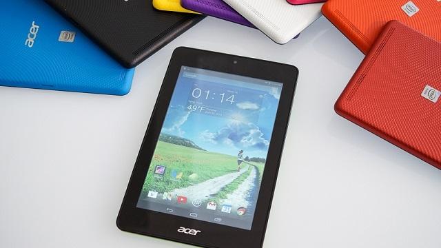 Acer'dan İki Yeni Bütçe Dostu Tablet: Iconia One 7 ve Iconia Tab 7