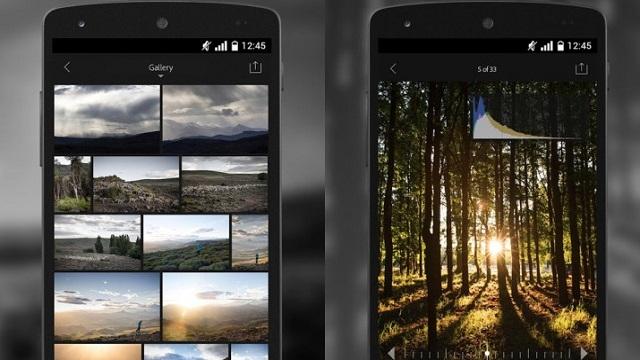 Adobe Lightroom Android Platformunda Ücretsiz Oldu!