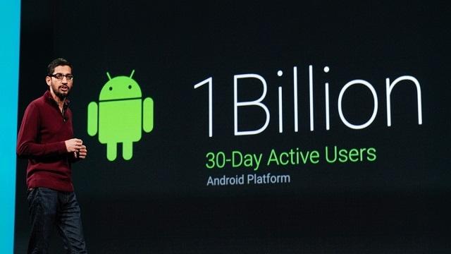 Android Aylık 1 Milyar Aktif Kullanıcı Sayısına Ulaştı