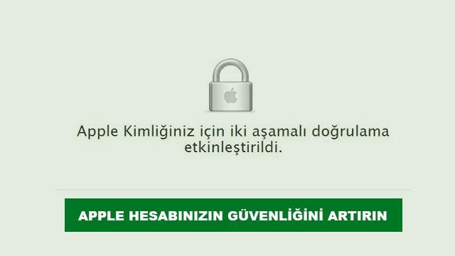 Apple ID İki Aşamalı Doğrulama Nasıl Etkinleştirilir?
