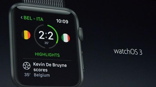 Apple watchOS 3.0 Duyuruldu