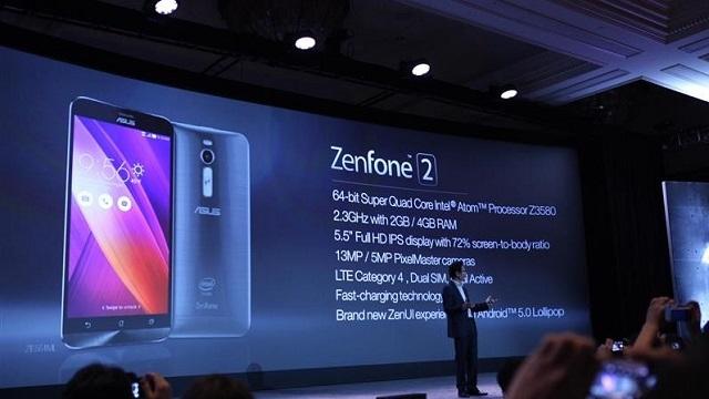ASUS Zenfone 2, CES 2015'te Tanıtıldı