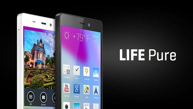 Blu, Life Pure Akıllı Telefonunu Duyurdu