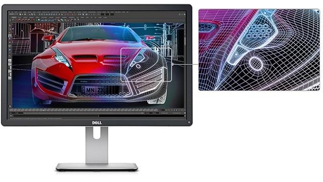 Dell'in Yeni 24 inç Ultra HD Monitörü Göründü