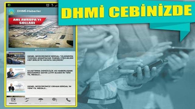 DHMİ Genel Müdürlüğü Mobil Uygulaması İle Uçuş Bilgileri Cebinizde