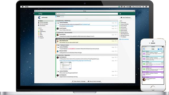 Dropbox Zulip: Açık Kaynak Kodlu Sohbet Uygulaması