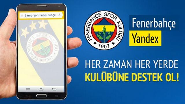 Fenerbahçe Yandex Android Uygulaması Çıktı!