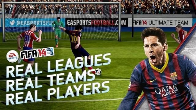 FIFA 14 Windows Phone Sürümü İndirilmeye Sunuldu