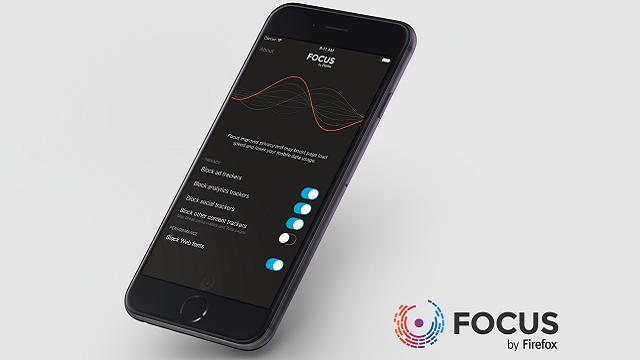 Mozilla, iOS için Reklam Engelleme Uygulaması Focus'u Yayınladı