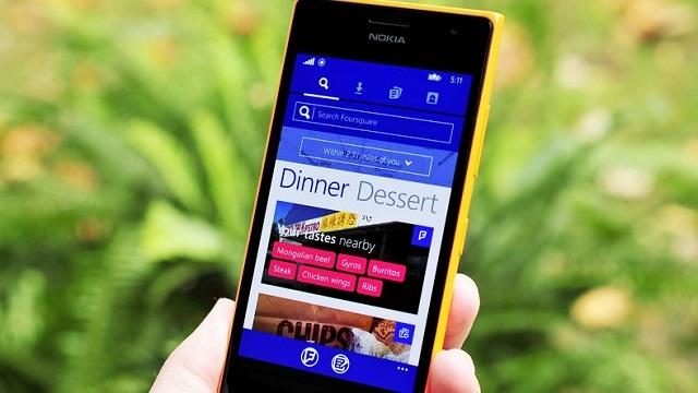 Foursquare, Windows Phone İçin Yenilediği Uygulamasını Yayınladı
