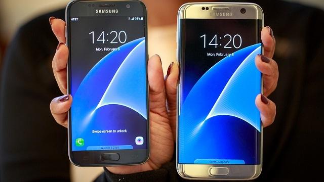 Samsung Galaxy S7, Samsung Galaxy S7 Edge Karşılaştırması