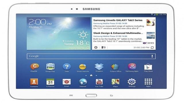 Samsung, 8 ve 10.1 inçlik Galaxy Tab 3 Tabletlerini Duyurdu