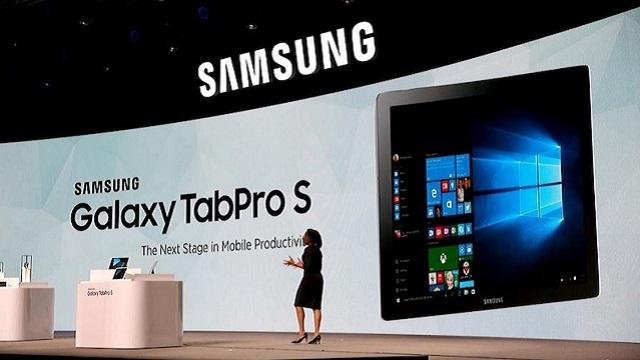 Samsung Galaxy TabPro S CES 2016'da Tanıtıldı
