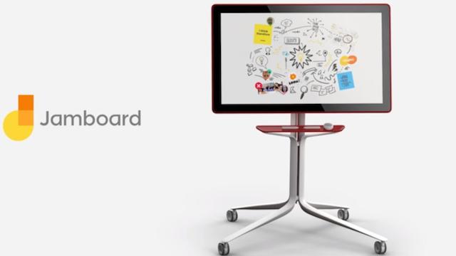 Google'ın Akıllı Tahtası Jamboard Satışa Sunuldu
