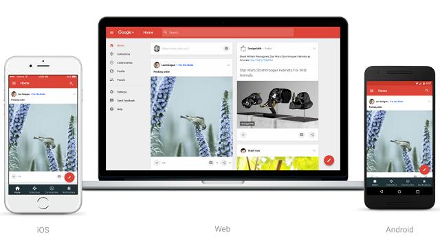 Google+ Tamamen Yenilendi!