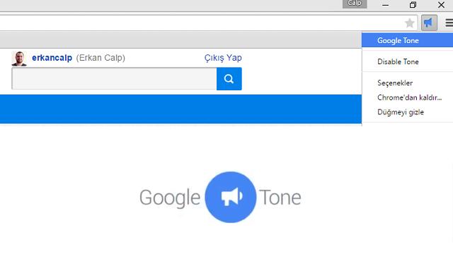 Google Tone, Ses Dalgaları ile Yakındaki Tüm Bilgisayarlarla URL Paylaşımını Mümkün Kılıyor