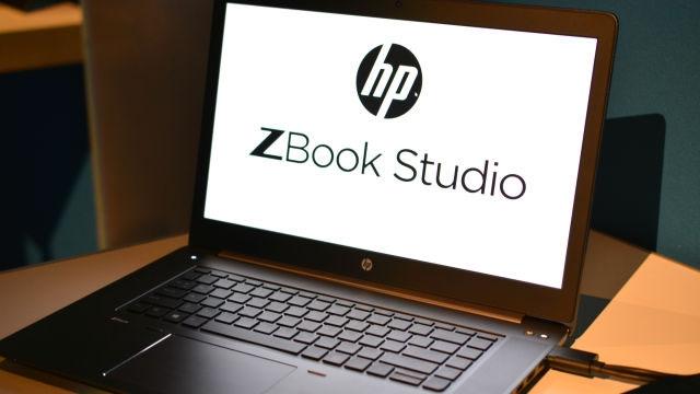HP, Yeni İş İstasyonu ZBook Studio ile Apple MacBook Pro'ya Meydan Okuyor