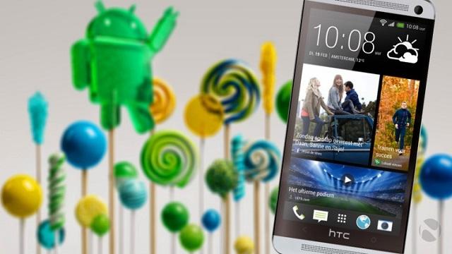 HTC One M7 Android 5.0 Lollipop Güncellemesi Yayınlandı!