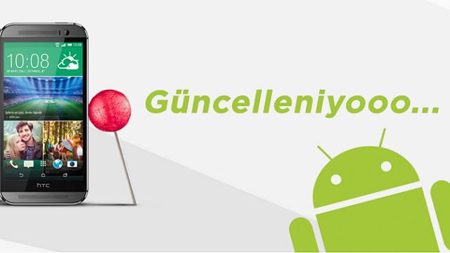 HTC One M8 Android 5.0.1 Lollipop Güncellemesi Yayınlandı!