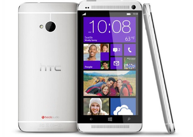 Windows Phone'lu HTC One Geliyor