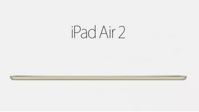 iPad Air 2 Teknosa'da Ön Siparişe Sunuldu