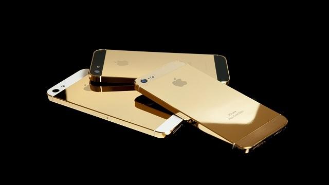 Altın Renkli iPhone 5S mi Geliyor?