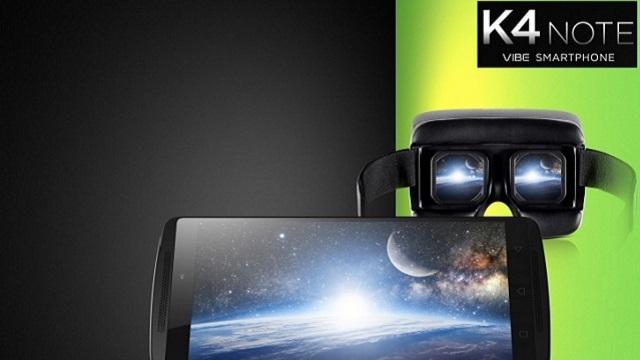 Lenovo K4 Note Sanal Gerçeklik Gözlüğüyle Geliyor