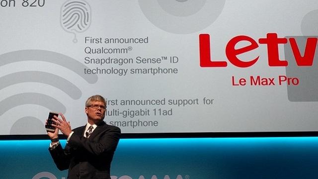 Qualcomm Snapdragon 820'li İlk Akıllı Telefon Letv Le Max Pro Duyuruldu