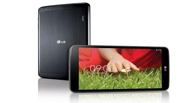 LG, Yeni Tableti G Pad'i Resmen Duyurdu