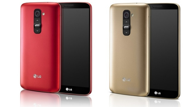 Altın ve Kırmızı Renkli LG G2, 18 Ocak'ta Satışa Sunulacak